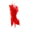 Marabou Feathers 4-6'' Red
